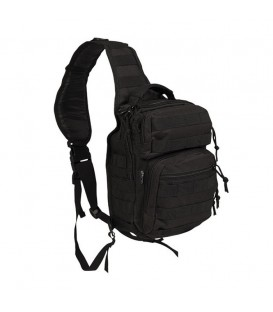 BANDOLERA MOCHILA ASSAULT TACTICAL 1 ASA 10L NEGRO