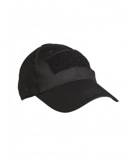 BLACK TACTICAL BASEBALL CAP