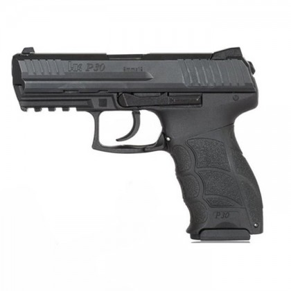 PISTOLA HK P30 CAL. 9 MM PB DE 15 DISPAROS