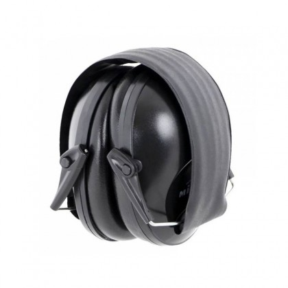CASCO DE PROTECCION COLOR NEGRO PLEGABLE 23DB