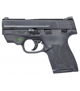 PISTOLA SMITH & WESSON M&P9 SHIELD M2.0 LASER VERDE