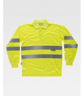 POLO WORKTEAM FLUOR AMARILLO