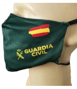 MASCARILLA HIGIENICA REUTILIZABLE DOBLE FILTRO GUARDIA CIVIL