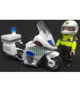PLAYMOBIL GUARDIA CIVIL TRÁFICO CON MOTO