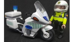 PLAYMOBIL GUARDIA CIVIL TRAFICO CON MOTO