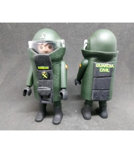 PLAYMOBIL GUARDIA CIVIL UNIDAD TEDAX