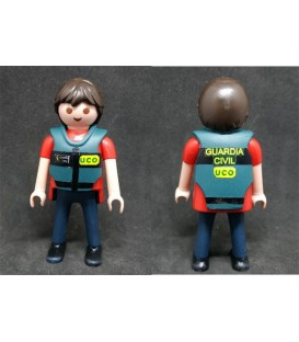 PLAYMOBIL GUARDIA CIVIL UCO (UNIDAD CENTRAL OPERATIVA)