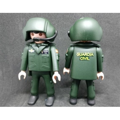 PLAYMOBIL GUARDIA CIVIL PILOTO HELICOPTERO