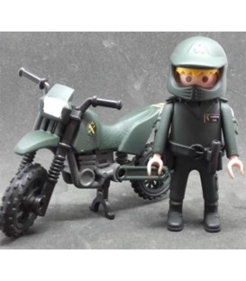 PLAYMOBIL GUARDIA CIVIL SEPRONA CON MOTO
