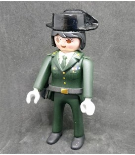 PLAYMOBIL GUARDIA CIVIL UNIFORME DE PASEO TRICORNIO MUJER