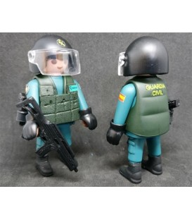PLAYMOBIL GUARDIA CIVIL GRUPO UEI (UNIDAD ESPECIAL INTERVENCION)