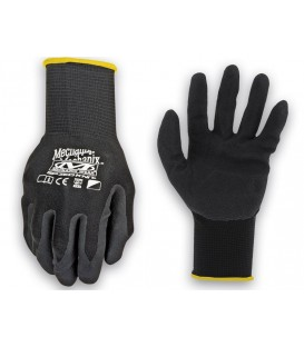 GUANTES MECHANIX KNIT NITRILE NEGRO