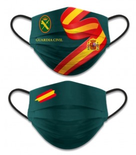 MASCARILLA FACIAL REVERSIBLE GUARDIA CIVIL