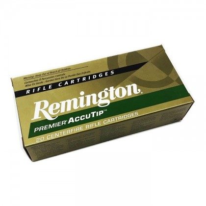 MUNICION CAL. 22-250 PREMIER ACCUTIP REMINGTON