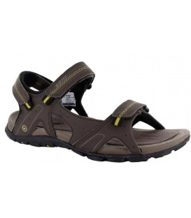 SANDALIA HI-TEC TERRENO STRAP DARK CHOCOLATE/DARK