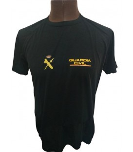 CAMISETA TECNICA GUARDIA CIVIL MOD.2 COLOR NEGRO ADULTO