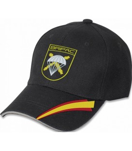 GORRA BRIPAC COLOR NEGRO