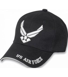 GORRA U.S. AIR FORCE COLOR NEGRO