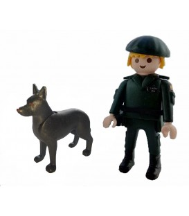 PLAYMOBIL GUARDIA CIVIL UNIDAD CANINA