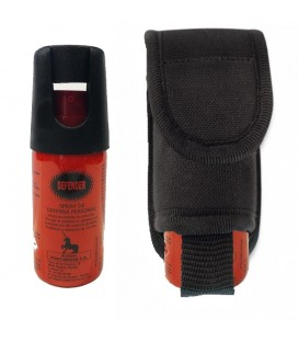 PACK SPRAY DE DEFENSA PERSONAL HOMOLOGADO DEFENDER + FUNDA