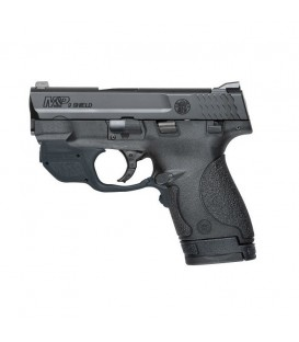 PISTOLA SMITH & WESSON M&P9 SHIELD CON LASER VERDE