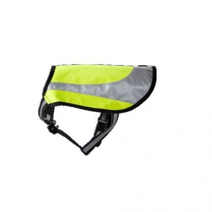 TRAJE TWILIGHT REFLECTANTE PARA PERROS TALLA 55 COLOR AMARILLO HURTTA
