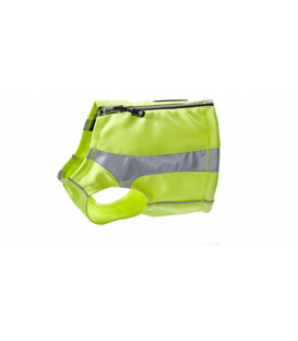 TRAJE LIFEGUARD POLAR VEST REFLECTANTE PARA PERROS TALLA L COLOR AMARILLO HURTTA