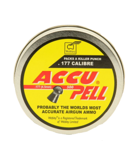 BALINES WEBLEY ACCUPELL 4,5MM LATA 500