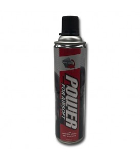 BOTE DE GAS PARA REPLICAS AIRSOFT 450 ML.