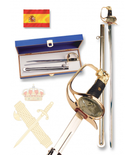 SABLE MINIATURA OFICIAL GUARDIA CIVIL