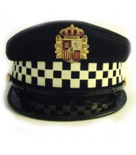 GORRA DE PLATO POLICIA LOCAL TALLAS 48-58