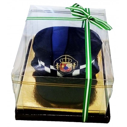 GORRA DE PLATO MINI POLICIA LOCAL
