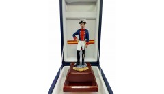 ESCULTURA GUARDIA CIVIL DE GALA 1860