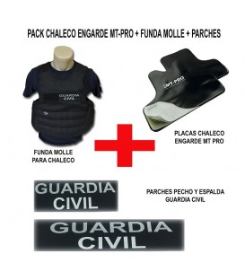 PACK CHALECO ENGARDE MT PRO + FUNDA MOLLE Y PARCHES G.C.