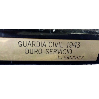 ESCULTURA GUARDIA CIVIL 1943