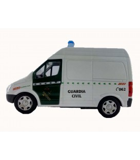FURGONETA COCHE GUARDIA CIVIL BLANCA