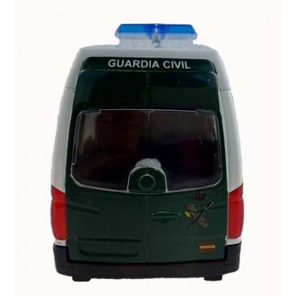 FURGONETA GUARDIA CIVIL BLANCO