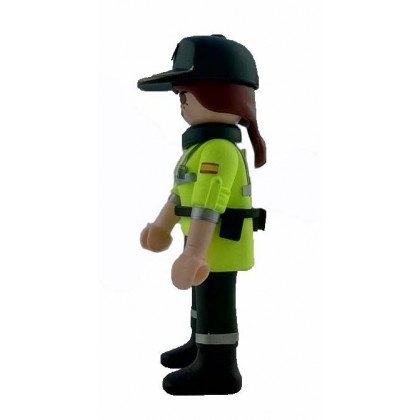PLAYMOBIL GUARDIA CIVIL TRAFICO MUJER