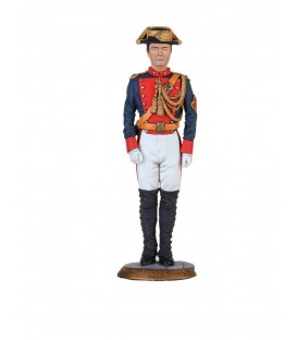 ESCULTURA GUARDIA CIVIL JOVEN UNIFORME GRAN GALA 1899