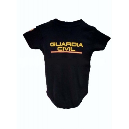 BODY BEBE GUARDIA CIVIL MANGA CORTA