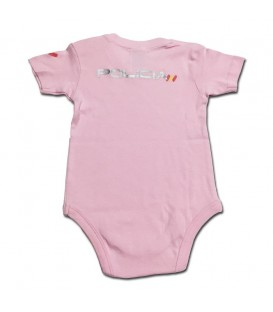 BODY BEBE POLICIA NACIONAL COLOR ROSA