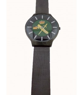 RELOJ GUARDIA CIVIL CORREA METALICA