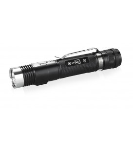 LINTERNA RECARGABLE DX30LC2-SR COLOR XP-L Hi CW 365nm UV 1160 LUMENS CON 5 NIVELES 2 MODOS