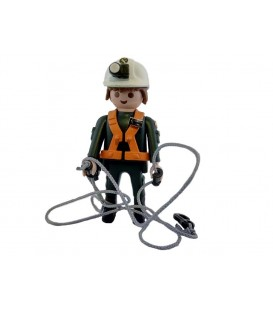 PLAYMOBIL GUARDIA CIVIL GRUPO RESCATE INTERVENCION MONTAÑA