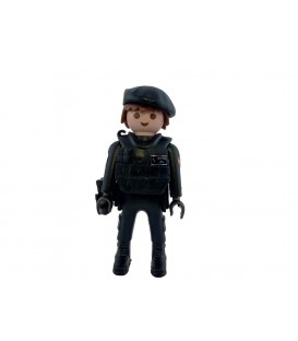 PLAYMOBIL GUARDIA CIVIL GRUPO G.R.S CON BOINA