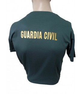 LIQUIDACION CAMISETA TECNICA VERDE GUARDIA CIVIL