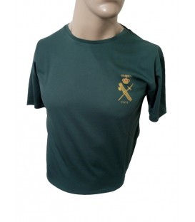 CAMISETA TECNICA VERDE GUARDIA CIVIL