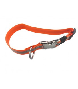 COLLAR PVC NARANJA REFLECTANTE 49 CM