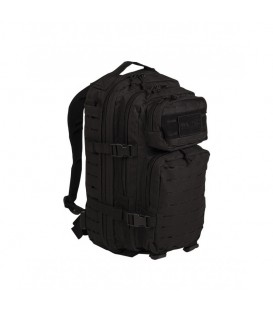 MOCHILA TACTICA US ASSAULT LASER CUT SM 20L. NEGRA