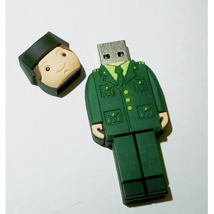 USB PENDRIVE DE 8GB DE GUARDIA CIVIL GALA TRICORNIO